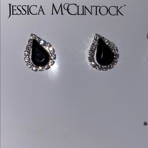 New without tags Jessica McClintock earrings